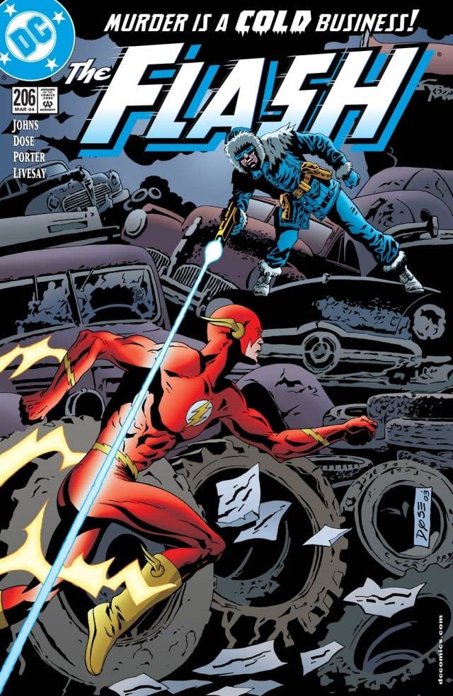 The Flash (1987-2009) #206