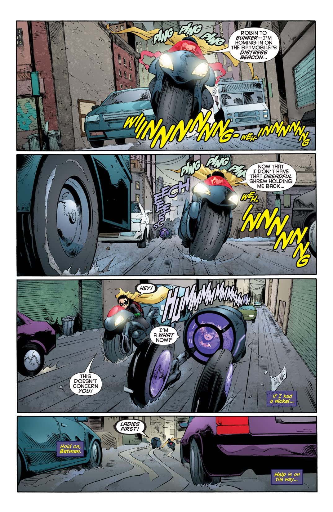 Batgirl (2009-2011) #7