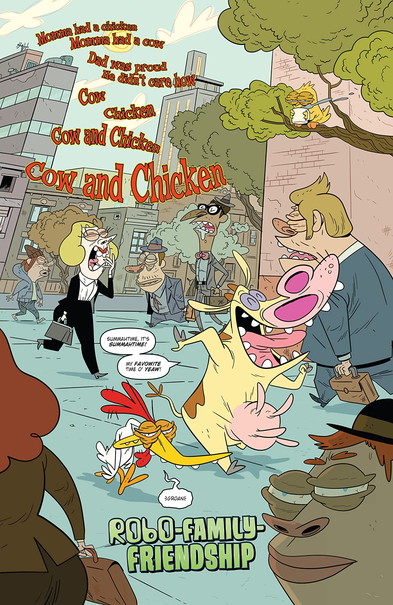 Cartoon Network: Super Secret Crisis War!: Cow and Chicken #1