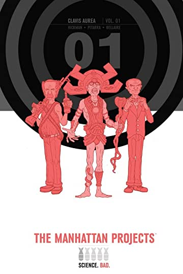 The Manhattan Projects Deluxe Edition Tome 1