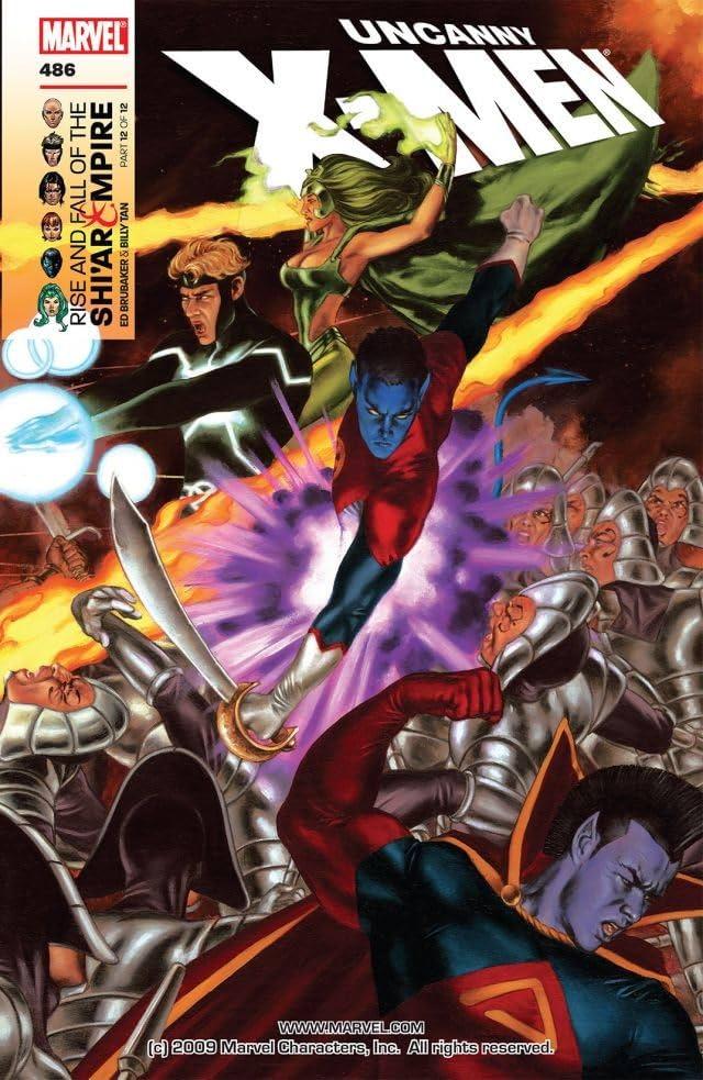 Uncanny X-Men (1963-2011) #486