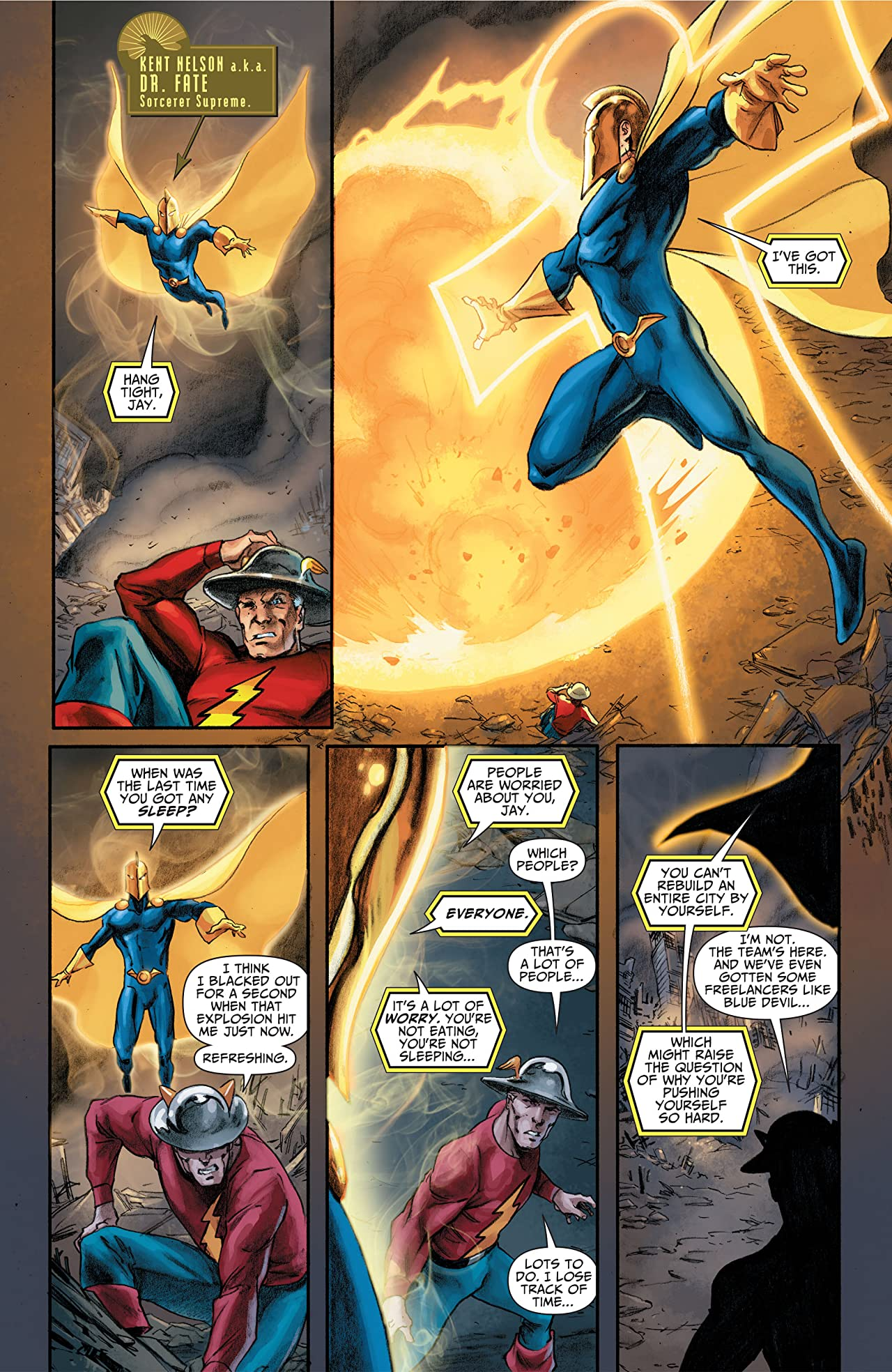 Justice Society of America (2007-2011) #46