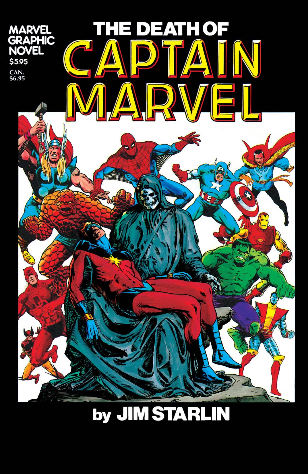 Marvel Graphic Novel #1: The Death of Captain Marvel