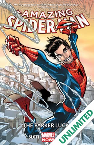 Amazing Spider-Man COMIC_VOLUME_ABBREVIATION 1: The Parker Luck