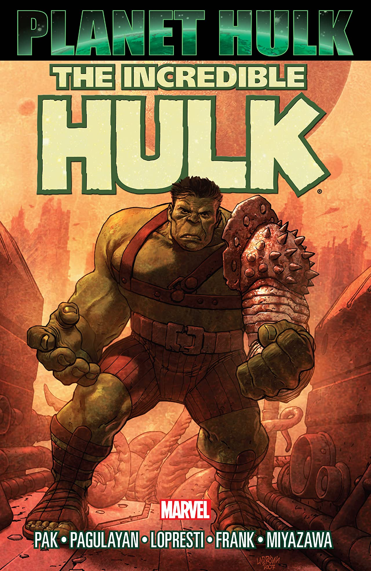 Image result for planet hulk cover
