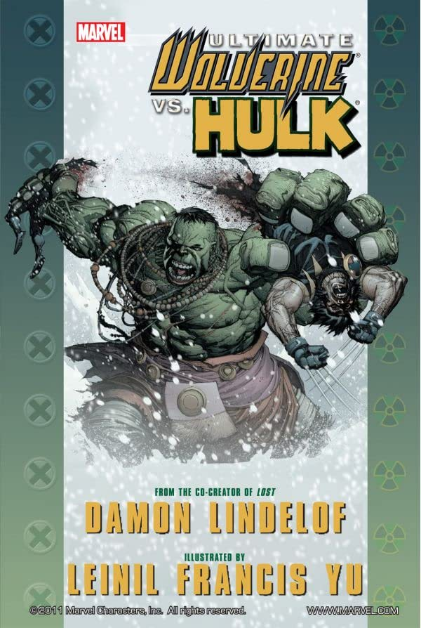 Ultimate Comics Wolverine vs. Hulk