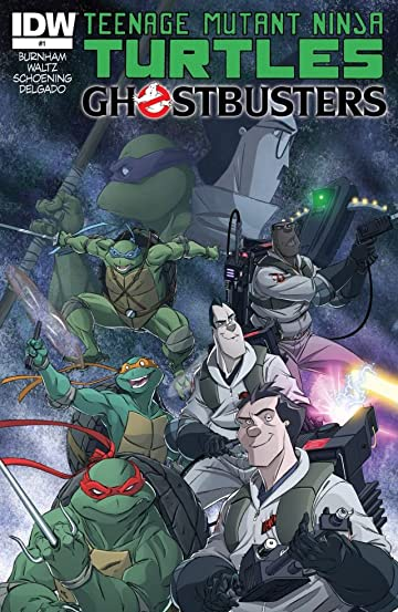 Teenage Mutant Ninja Turtles/Ghostbusters #1 (of 4)