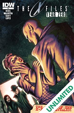 The X-Files: Year Zero #4 (of 5)