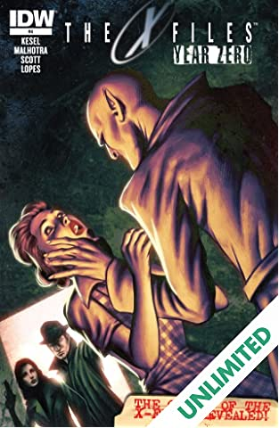 The X-Files: Year Zero #4 (of 5)