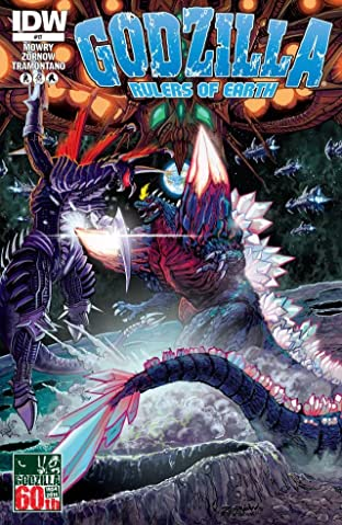 Godzilla: Rulers of Earth #17