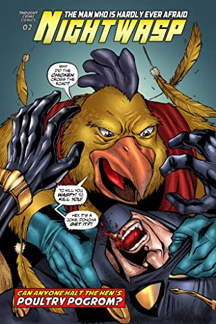 Nightwasp: The Man Who Is Hardly Ever Afraid #2