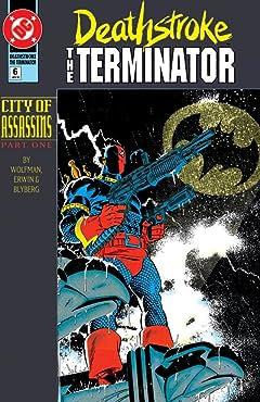 Deathstroke (1991-1996) #6