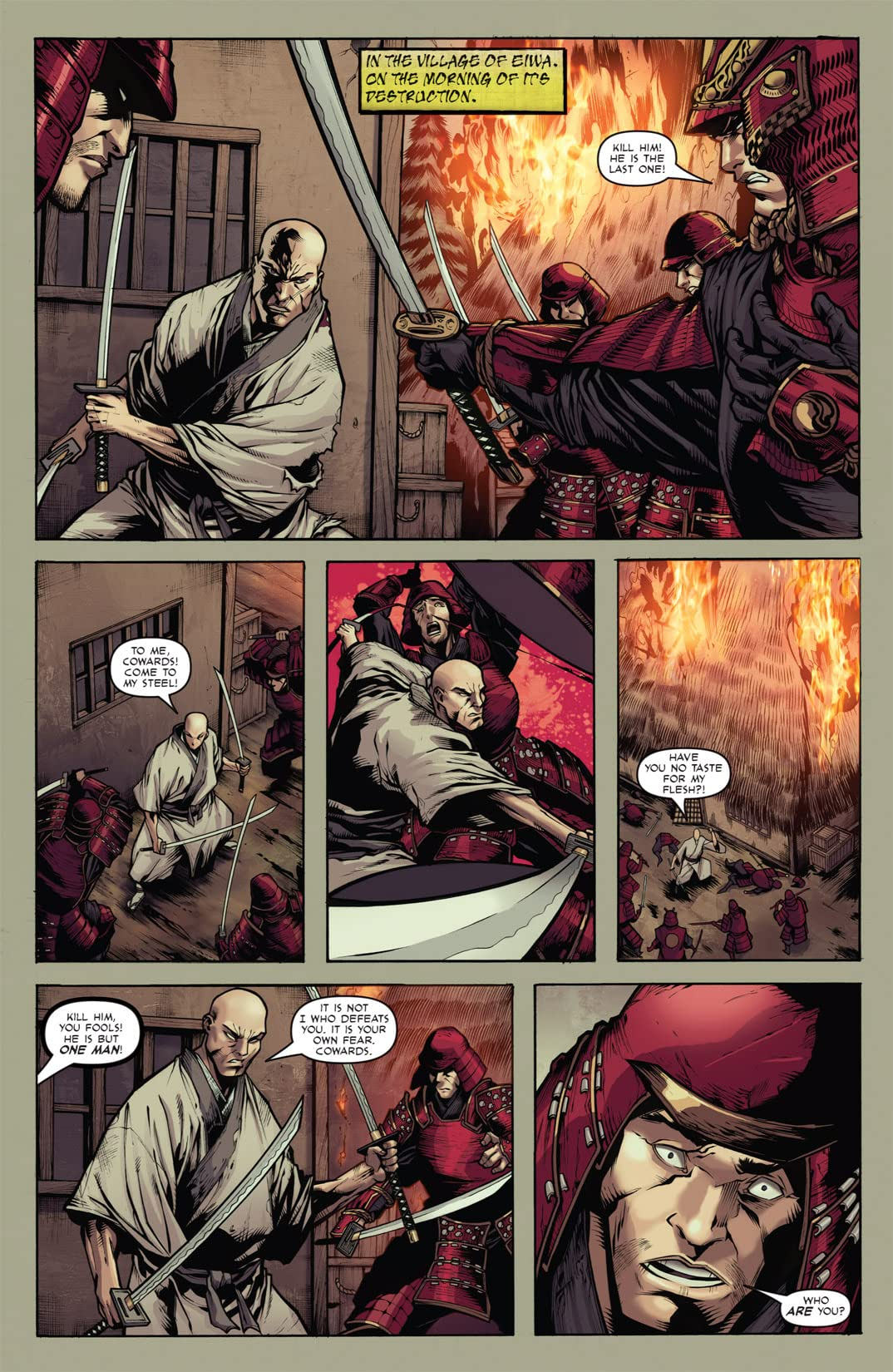 Samurai's Blood #5 (of 6)