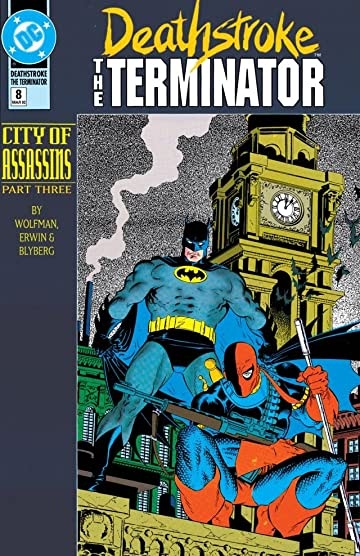 Deathstroke (1991-1996) #8