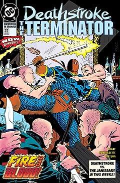 Deathstroke (1991-1996) #22