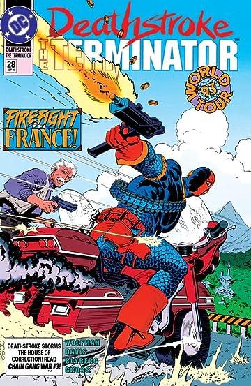 Deathstroke (1991-1996) #28
