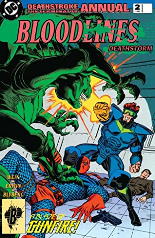 Deathstroke (1991-1996): Annual #2