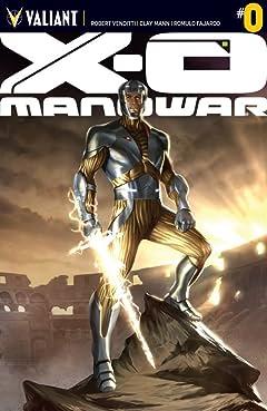 X-O Manowar (2012- ) No.0: Digital Exclusives Edition