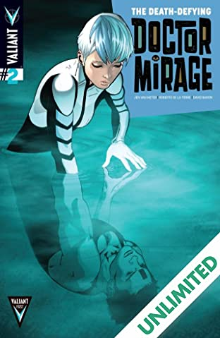 The Death-Defying Dr. Mirage (2014) #2 (of 5): Digital Exclusives Edition