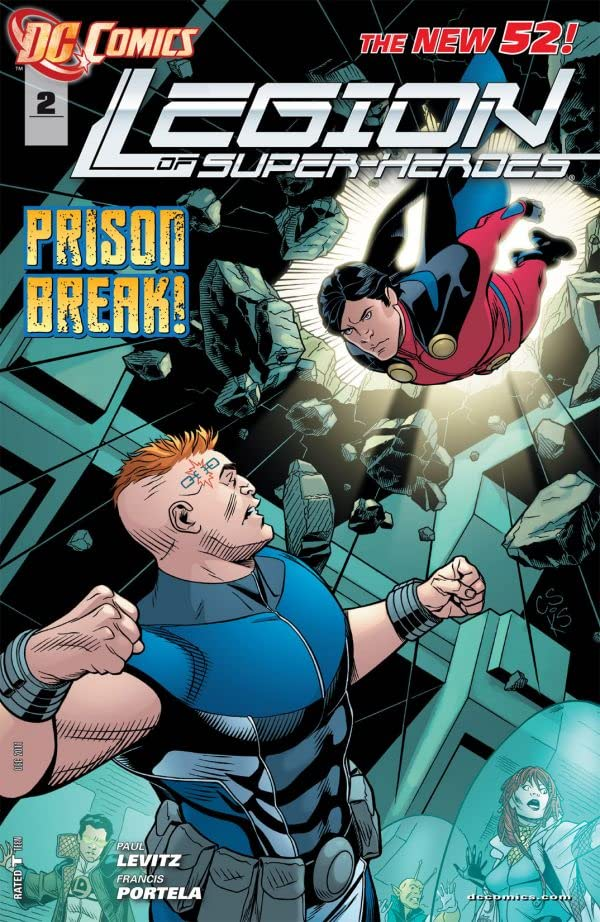 Legion of Super-Heroes (2011-2013) #2