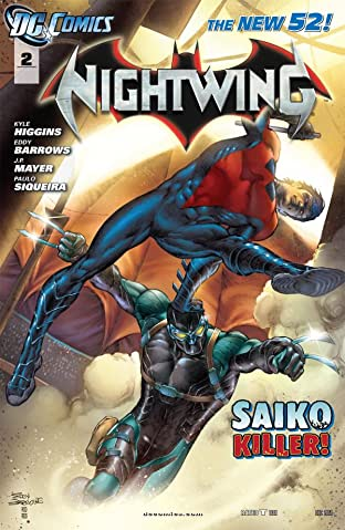 Nightwing (2011-2014) No.2