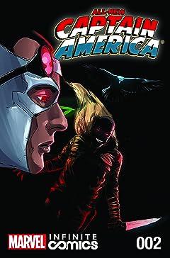 All-New Captain America: Fear Him Infinite Comic No.2 (sur 6)