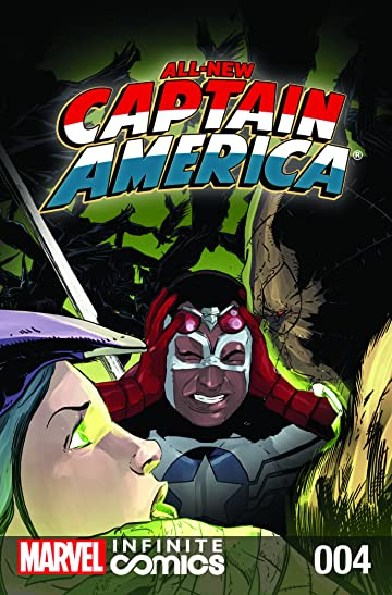 All-New Captain America: Fear Him Infinite Comic #4 (of 6)