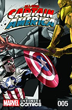 All-New Captain America: Fear Him Infinite Comic #5 (of 6)