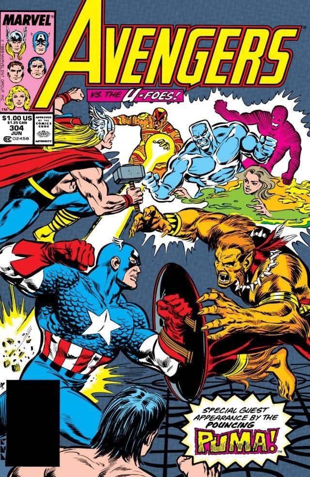 Avengers (1963-1996) #304