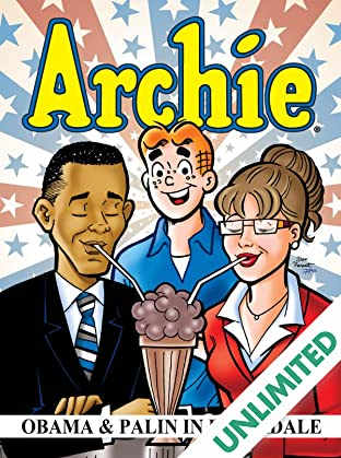 Archie: Obama & Palin In Riverdale