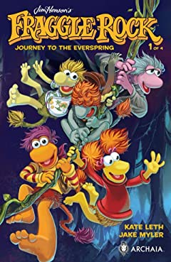 Jim Henson's Fraggle Rock: Journey to the Everspring #1 (of 4)