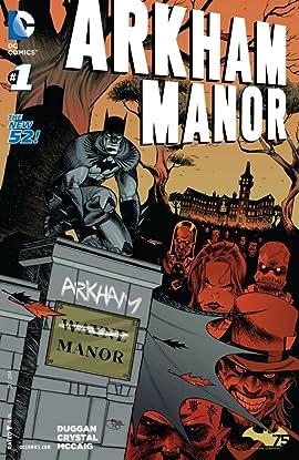 Arkham Manor (2014-2015) #1