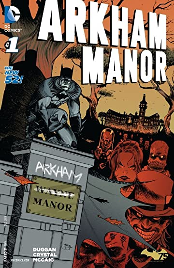 Arkham Manor (2014-2015) #1