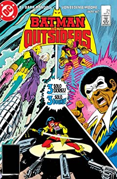 Batman and the Outsiders (1983-1987) #21