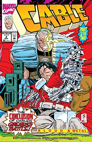 Cable: Blood and Metal No.2