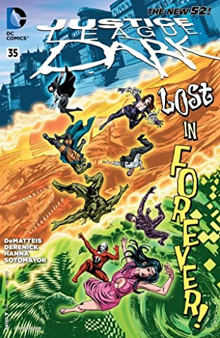Justice League Dark (2011-2015) #35