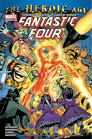Fantastic Four (1998-2012) No.580