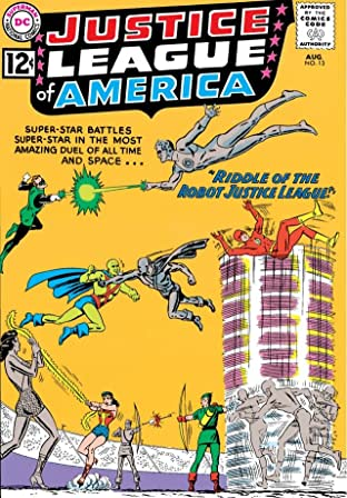 Justice League of America (1960-1987) No.13