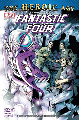 Fantastic Four (1998-2012) No.581