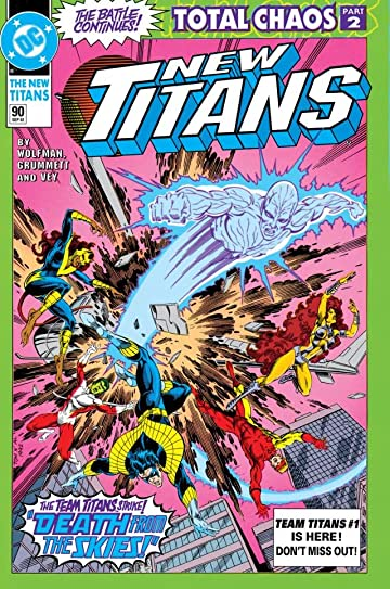 The New Titans (1984-1996) #90