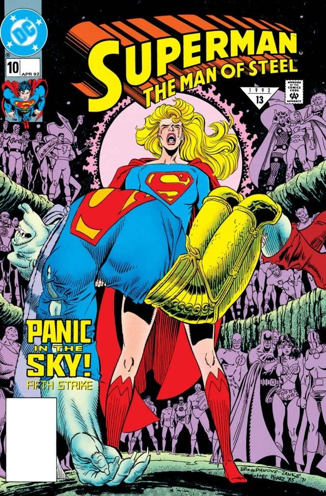 Superman: The Man of Steel (1991-2003) #10