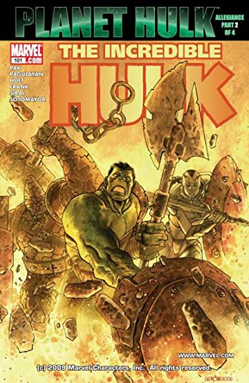 Incredible Hulk (1999-2008) #101