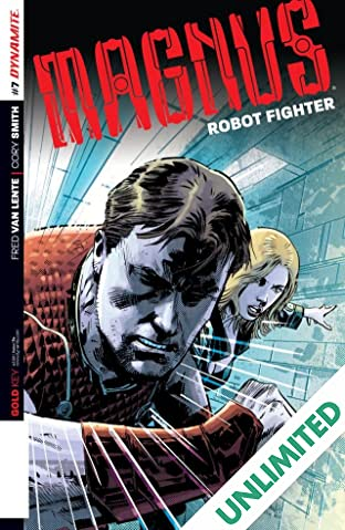 Magnus: Robot Fighter #7: Digital Exclusive Edition