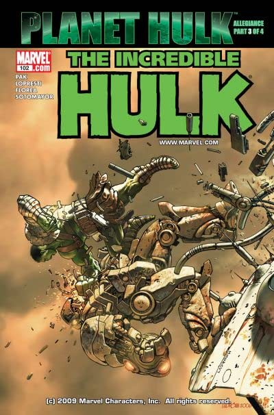 Incredible Hulk (1999-2008) #102