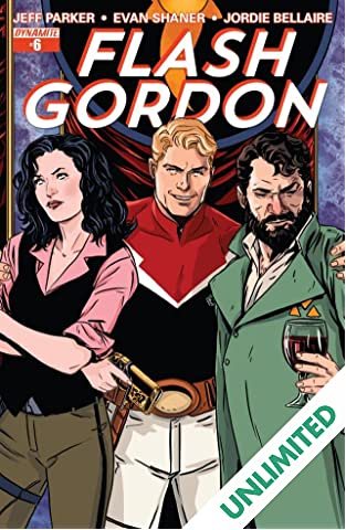 Flash Gordon #6: Digital Exclusive Edition