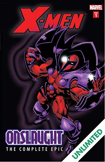 X-Men: The Complete Onslaught Epic - Book One