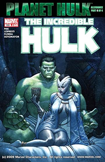 Incredible Hulk (1999-2008) #103