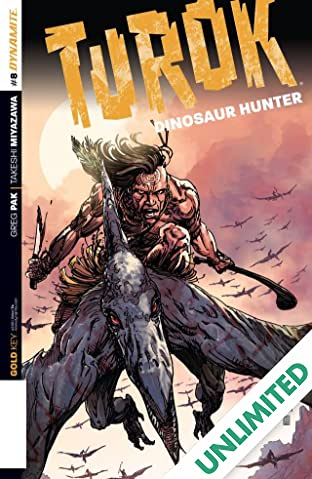 Turok: Dinosaur Hunter #8: Digital Exclusive Edition