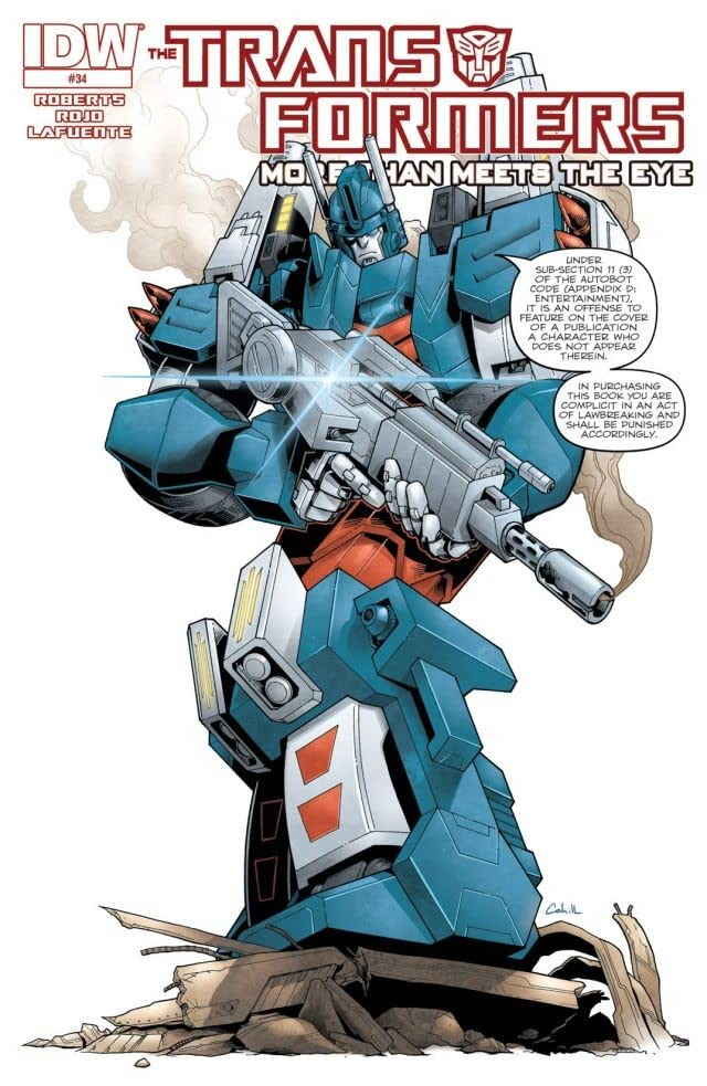 Transformers: More Than Meets the Eye (2011-2016) #34