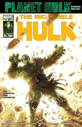 Incredible Hulk (1999-2008) #105